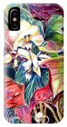 Orchids In White IPhone Case