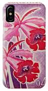 Orchids Of Orleans France 1967 IPhone Case