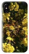 Oregon Grape Flowers IPhone Case