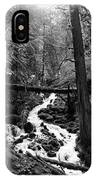 Oregon River Black And White IPhone Case