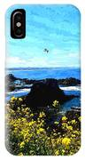 Oregon Wild Flowers Water Color IPhone Case