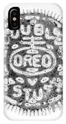 Oreo In Negetive IPhone Case