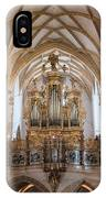 Organ Of The Gothic-baroque Church Of Maria Saal IPhone Case