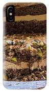 Organic Coffee And Pistachio Cake A IPhone Case