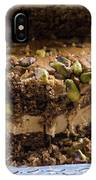 Organic Coffee And Pistachio Cake B IPhone Case