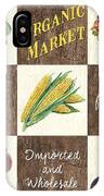 Organic Market Patch IPhone Case