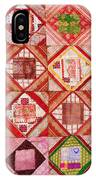 Oriental Patchwork Tapestry IPhone Case