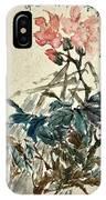 Original Chinese Flower IPhone Case