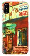 Original Fairmount Bagel IPhone Case