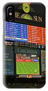 Orioles Game At Camden Yards IPhone Case