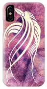 Ornamental Abstract Bird Minimalism IPhone Case