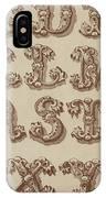 Ornamental IPhone Case
