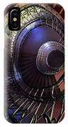 Ornamented Metal Spiral Staircase IPhone Case