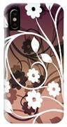 Ornametal 2 Purple IPhone Case