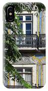 Ornate Building Facade In Lisbon Portugal IPhone Case