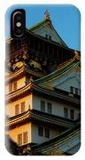 Osaka Castle Near Twilight IPhone Case