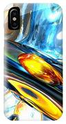 Oscillating Color Abstract IPhone Case