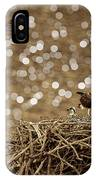 Osprey Coming In With Goodies IPhone Case