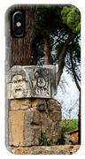 Ostia Antica - Theatre Marble Masks IPhone Case