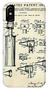 Otoscope Patent 1927 Old Style IPhone X Case