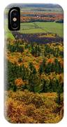 Ottawa River Valley In Fall At Tawadina Lookout At End Of Blanch IPhone Case