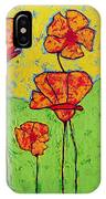 Our Golden Poppies IPhone Case