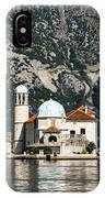 Our Lady Of The Rocks Church IPhone Case
