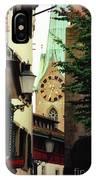 Our Ladys Minster Church In Zurich Switzerland IPhone Case
