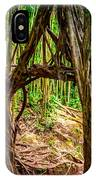 Out Of The Hole And Through The Trees IPhone Case