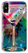 Out Of This World Martini IPhone Case