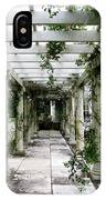 Out To The Garden IPhone Case