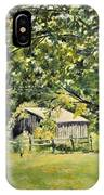 Outbuilding At Oriskatach New York IPhone Case