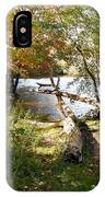 Outdoors Along The Huron River IPhone Case