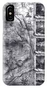 Outer Banks Lighthouse Map 1 IPhone Case