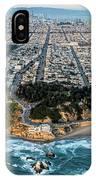 Outer Richmond San Francisco Aerial IPhone Case