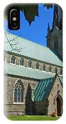 Outside Christ Church Cathedral 1 IPhone Case