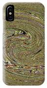 Oval Abstract Panel 6150-5 IPhone Case