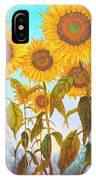Ovation Sunflowers IPhone Case