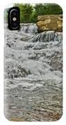 Over Natures Dam IPhone Case