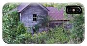 Overgrown Abandoned 1800 Farm House IPhone Case