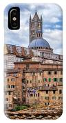 Overlooking Siena And The Duomo IPhone Case