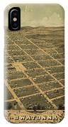 Owatonna, Minnesota 1870 IPhone Case