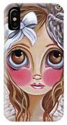 Owl Angel IPhone Case