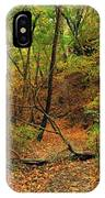 Owl Canyon In Autumn 2 IPhone Case