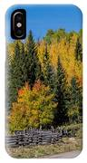 Owl Creek Pass Road 2 IPhone Case