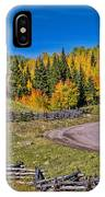 Owl Creek Pass Road IPhone Case