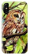 Owl From Butterfingers And Secrets IPhone Case