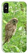 Owl II IPhone Case
