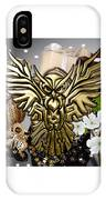 Owl In Flight Collection IPhone Case
