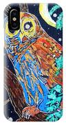 Owl Light IPhone Case